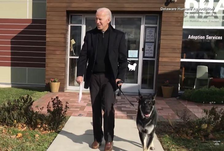 Joe Biden i Major.