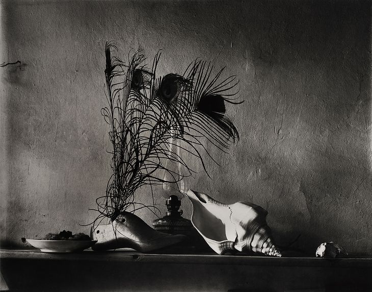 Josef Sudek Still-life after Caravaggio - Variation No. 1 1956,  printed later, probably 1970s Gelatin silver print