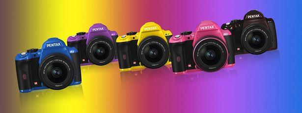 Pentax K-r: 5 nowych kolorów w Europie