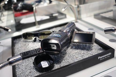IFA 2010 ? kamera Panasonic SDT750 z bardzo bliska