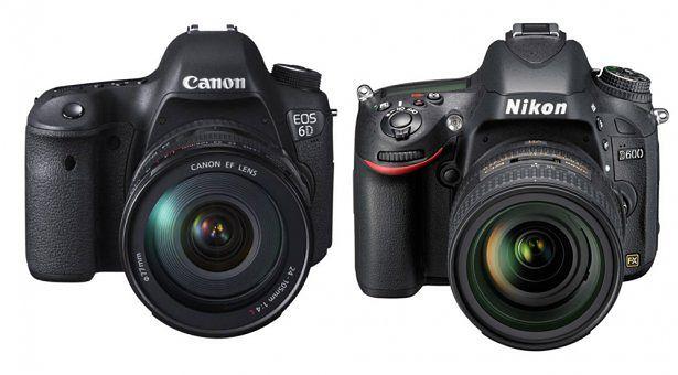Canon 6D vs. Nikon D600