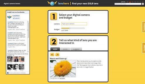 Lenshero.com - pomoc w doborze szkła