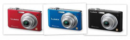 Nowe, kolorowe Panasoniki Lumix serii FS