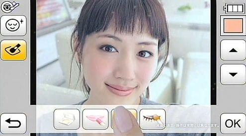 Panasonic LUMIX FX77 – aparat robiący makijaż
