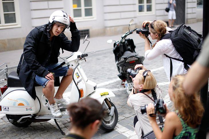 Plener w czasie warsztatów fotograficznych, fot. Michał Massa Mąsior