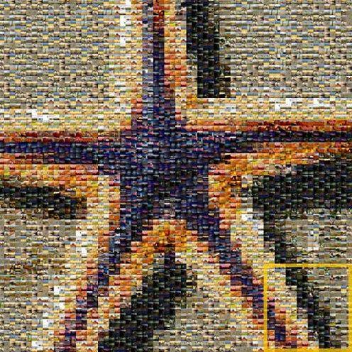 Zatopiony w bezgranicznej mozaice National Geographic