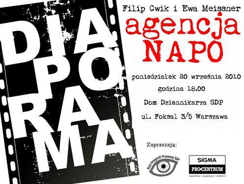 Spotkanie z członkami Napo Images w Domu Dziennikarza