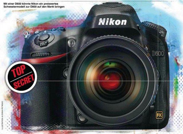 Czy tak ma wyglądać nowy Nikon D600? © Fotomagazin