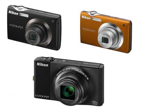 Nikon Coolpix S3000, S4000 i S8000 - smukłe i eleganckie kompakty