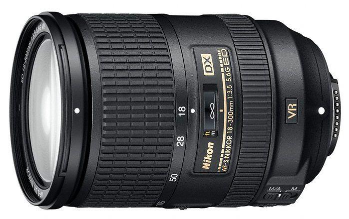 AF-S Nikkor DX 18-300mm f3,5-5,6G ED VR