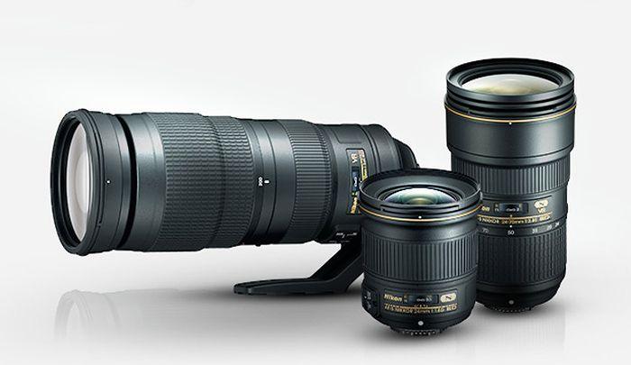 Nowe obiektywy Nikko 24-70 mm f/2.8E ED VR, 200-500 mm f/5.6E ED VR i 24 mm f/1.8G ED.