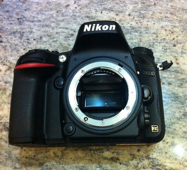 Nikon D600?