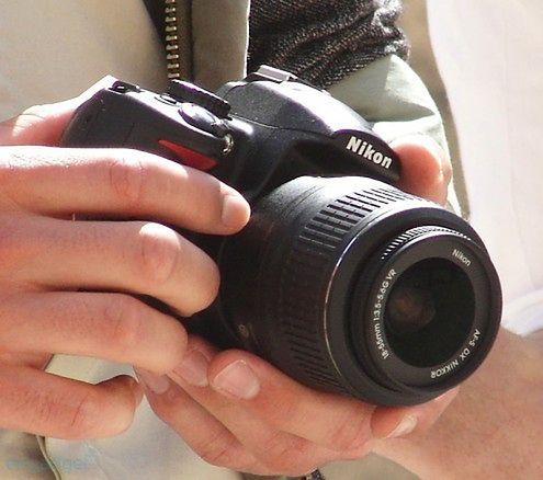 Nowa lustrzanka Nikona - zdjęcia szpiegowskie