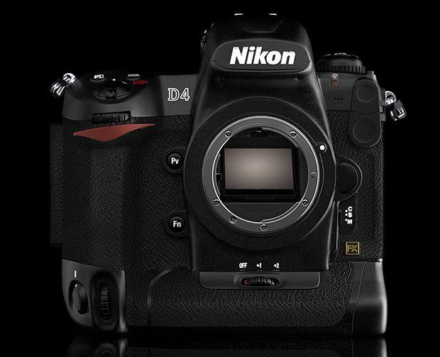 Amatorska wizualizacja Nikona D4