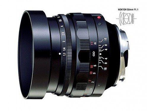 Jasny, manulany i klasyczny - nowy obiektyw Voigtlander Nokton 50 mm f/1.1