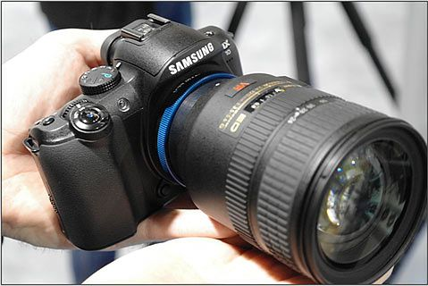 Dzięki adapterom Novoflex podłączysz prawie każdy obiektyw do Samsunga NX10