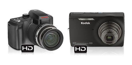 Nowe kompaktowe Kodaki