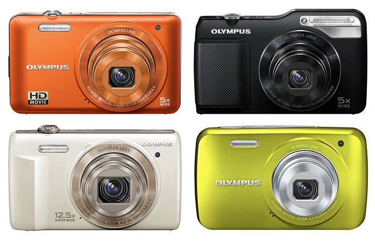 Nowe kompakty Olympusa na CES