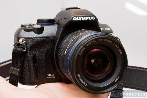 Olympus E-450, lustrzanka dla artystów-amatorów
