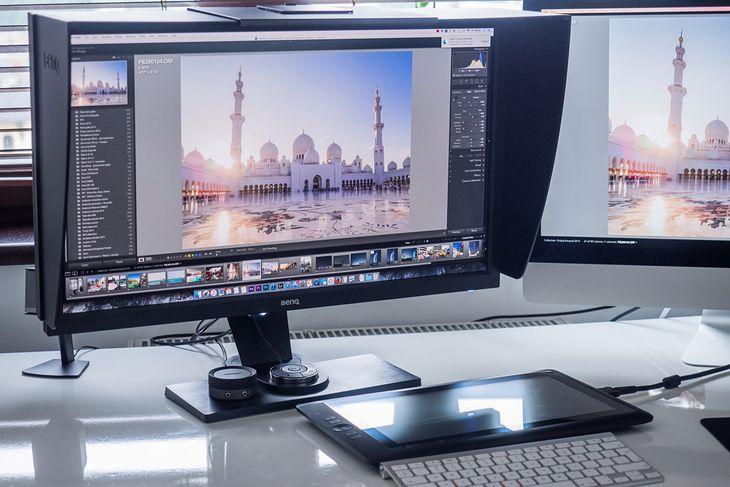 """BenQ SW2700PT - nowy, 27"""" monitor oferujący 99% pokrycia Adobe RGB, 10-bitowy panel i 14-bitową tablicę 3D LUT"""