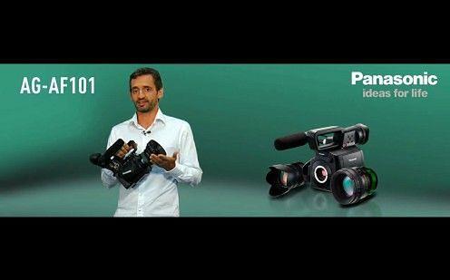 Panasonic AG-AF101 - kamera mikro cztery trzecie