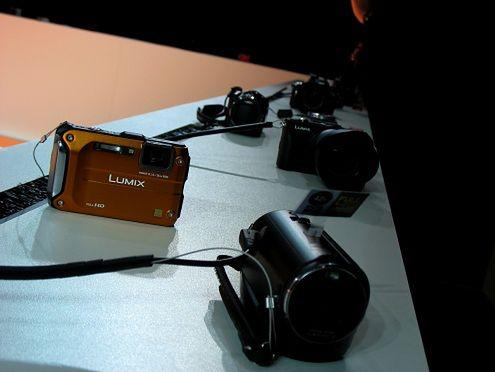 Aparaty i kamery na Panasonic Convention 2011