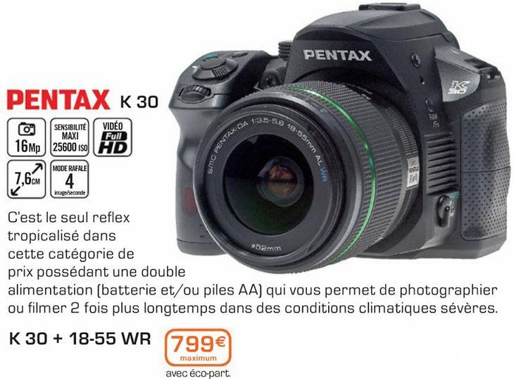 Pentax K30? (źródło: PhotoRumors)