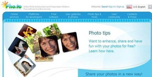 Pho.to - zbiór narzędzi do edytowania zdjęć online