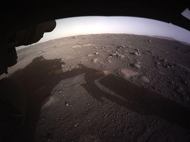 Mars w kolorze.