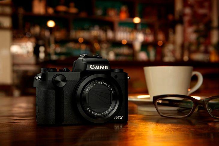 Jedna z dzisiejszych nowości: Canon PowerShot G5 X.