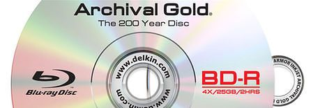 Archival Gold Blu-ray (BD-R)