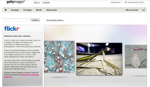 Flickr Collection już jest na Getty Images