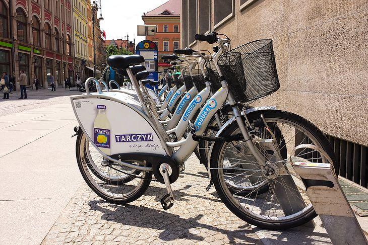 ©JK - rowery miejskie we Wrocławiu
