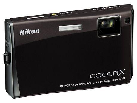 Nikon Coolpix S60 z ogromnym dotykowym LCD