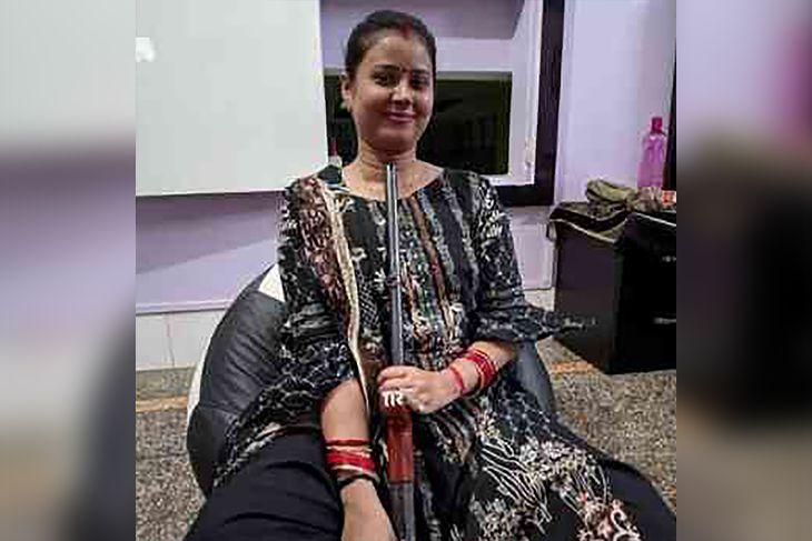 Radhika Gupta tuż przed śmiercią.