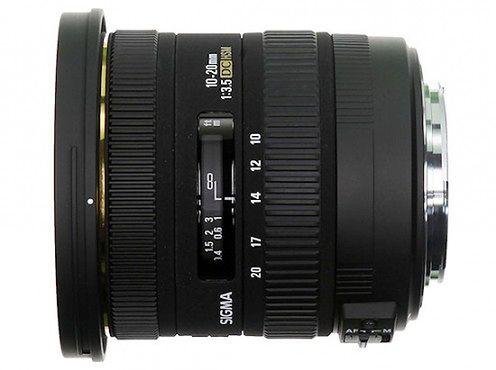 Sigma 10-20mm F/3.5 EX DC HSM - jasny szerokokątny zoom
