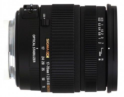Sigma 17-70 mm f/2.8-4 DC Macro OS