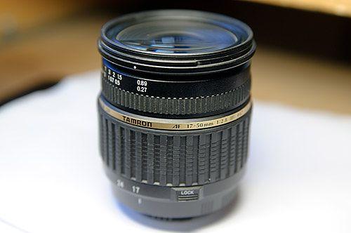 Obiektyw Tamron 17-50 mm f/2.8 - jak naprawić poluzowaną soczewkę?