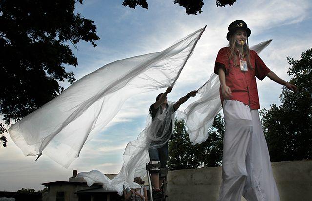 Slot Art Festiwal gwarantuje całą masę wydarzeń kulturlanych, które można bez przerwy fotografować, fot. KB