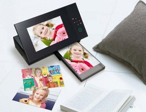 Cyfrowa ramka Sony, która wydrukuje wyświetlane zdjęcie