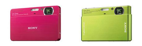 Kolorowo i stylowo ? Sony Cyber-Shot T77 i T700