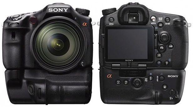 Wizualizacja Sony A77
