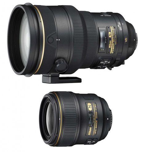 AF-S NIKKOR 35 mm f/1,4G i 200 mm f/2G ED VR II - dwa nowe profesjonalne obiektywy