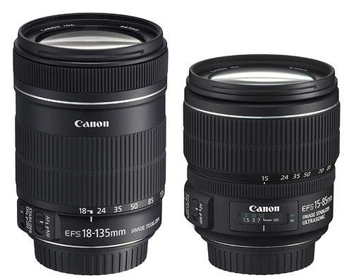 Canon EF-S 18-135mm i 15-85mm f/3.5-5.6 - uniwersalne zoomy do 7D