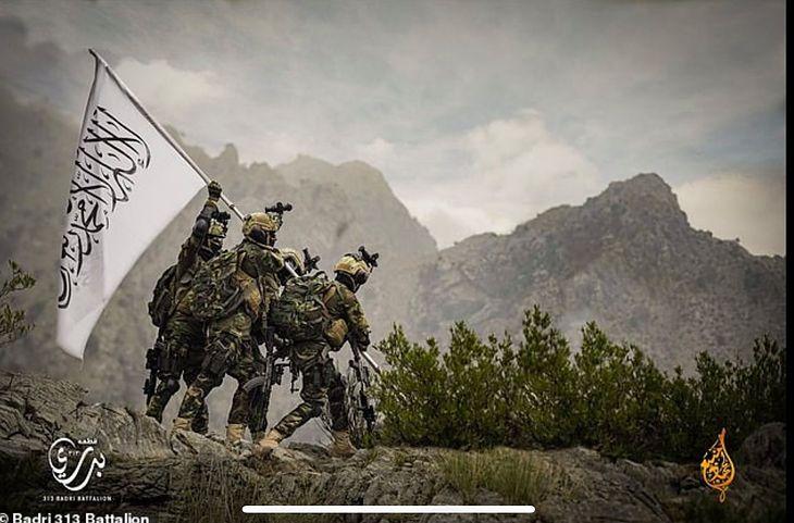 Propaganda talibów i naśmiewanie się z USA.