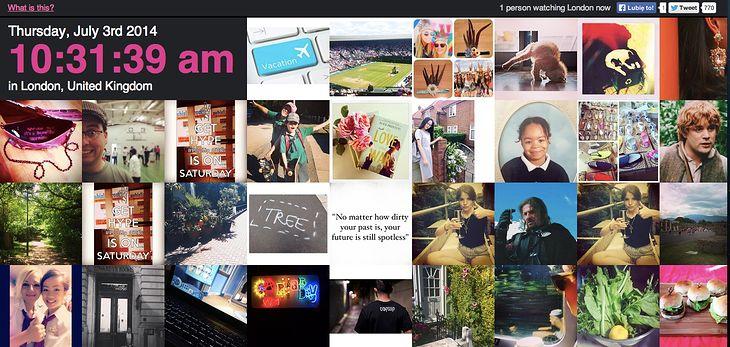 A co tam w Londynie na tym Instagramie wyprawiają?