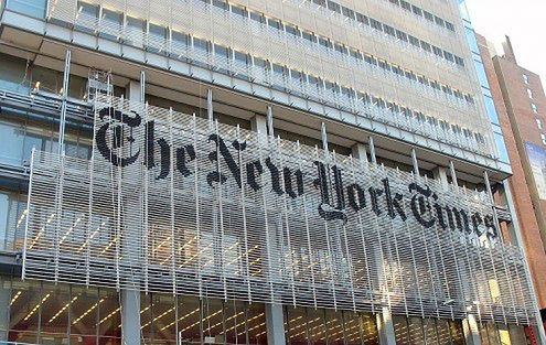 """New York Times - """"A moment in time"""""""