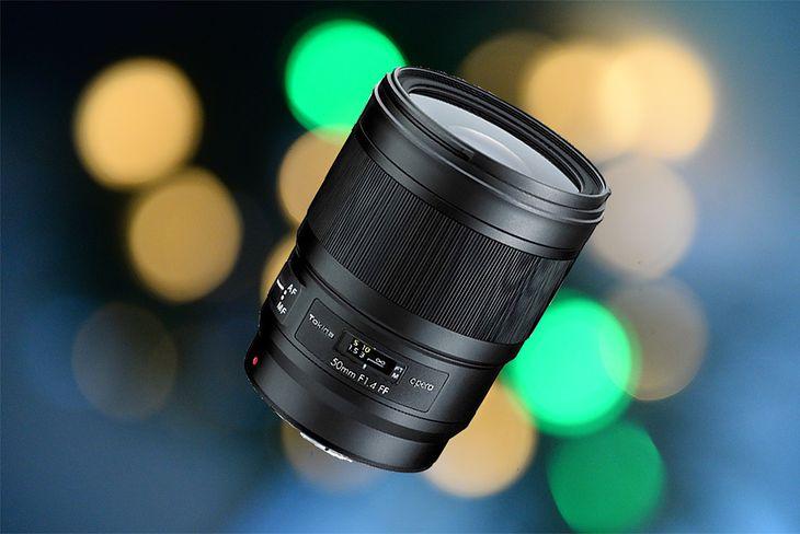 Tokina Opera 50 mm f/1.4 FF AF