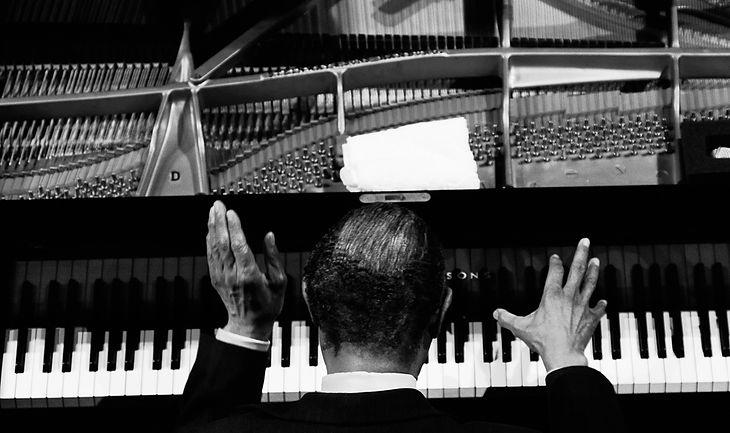 McCoy Tyner, fot. Krzysztof Basel