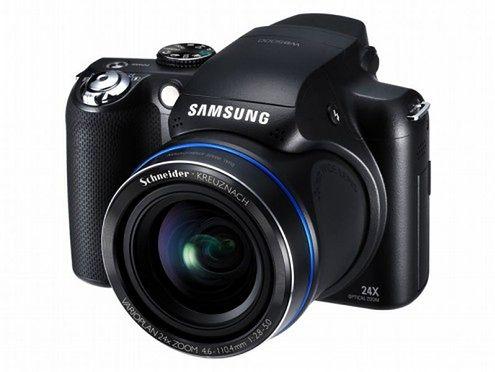 Samsung WB5000 - uwaga, zoom 24-razy na pokładzie